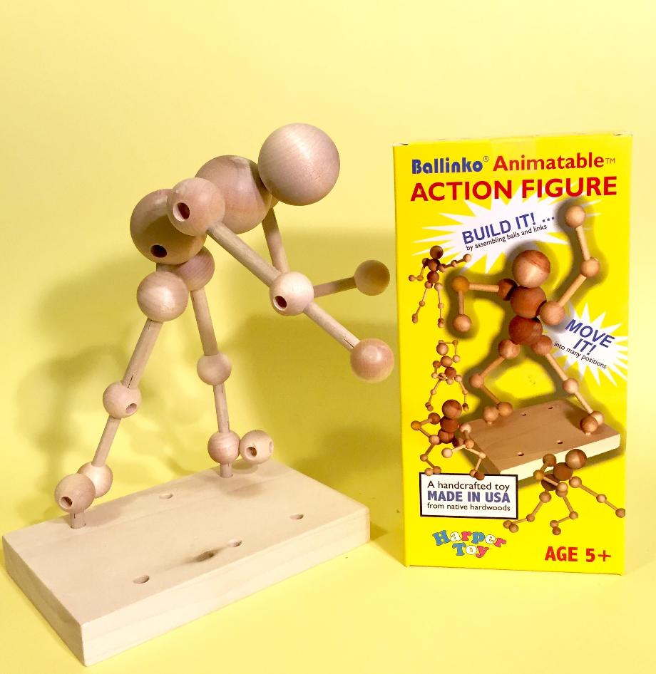 Animatable Action Figure and Package